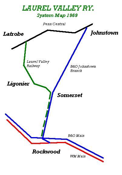 LRV System Map