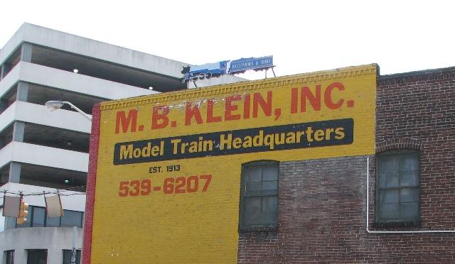 bp cockeysville md mb kleins model train store L.