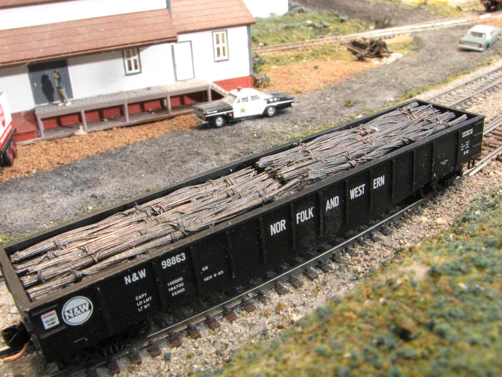 Modeling Scrap Steel Model Railroader Magazine Model