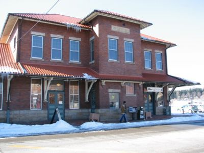 Elkins Depot