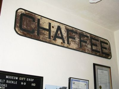 Chaffee Sign WMRHS