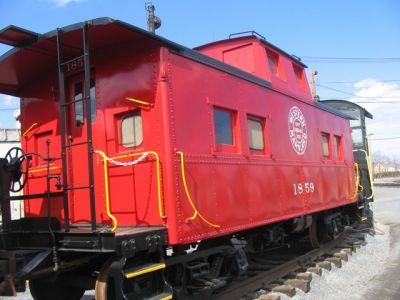 Fast Freight Caboose